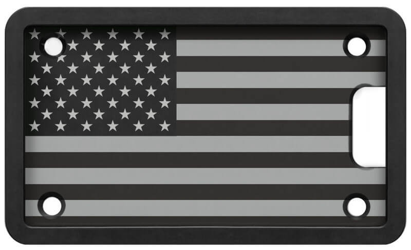 PLATEPULLER Engraved Flag