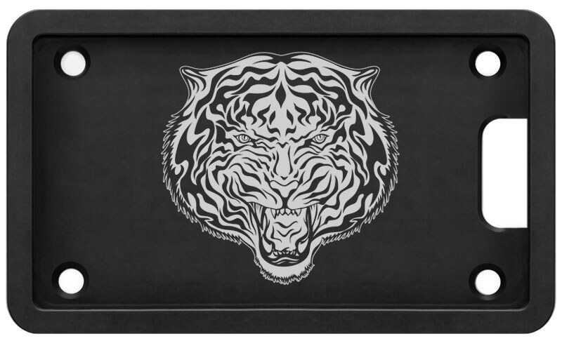 PLATEPULLER Engraved Tiger